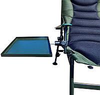 Столик для кресла складной с креплением Ranger RA 8822, черный