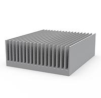 Алюминиевый профиль радиаторный 220х85 без покрытия
