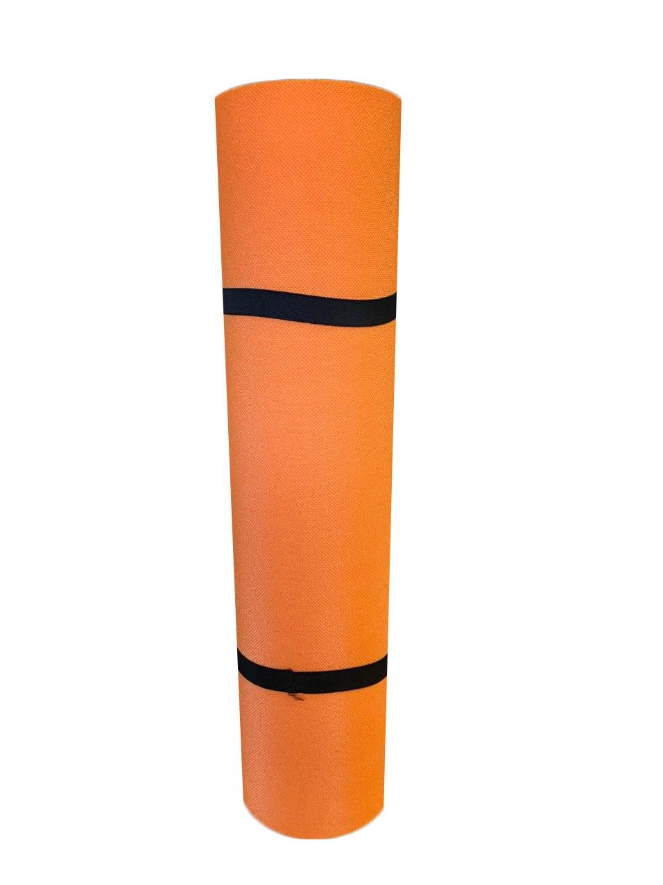 Коврик для фитнеса оранжевый, т. 5 мм, размер 50х150 см, производитель Украина, TERMOIZOL®