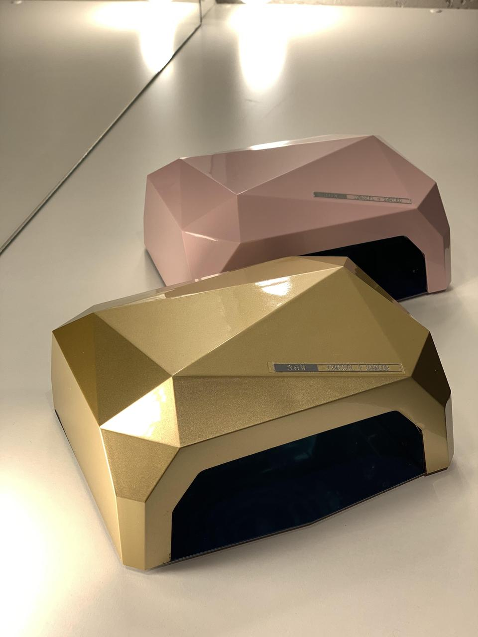 Лампа для маникюра гибридная Diamond 36w  LED+CCFL