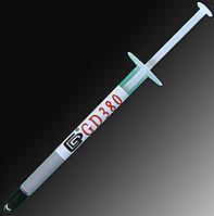 Термопаста GD380 термо-паста в шприце 1 грамм; 2.2 W/m.k; -50...200C, фото 1