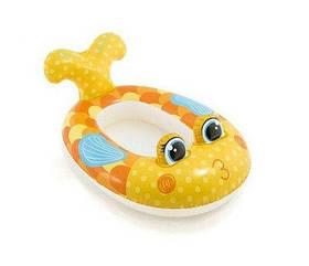 Надувний пліт для плавання ПЛАВАННЯ РИБКА (#59380P)