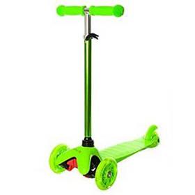 Детский самокат трехколесный BB 3-013-4-H Green