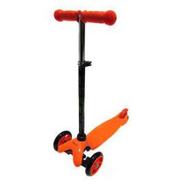 Детский самокат трехколесный iTrike Scooter 3-013-4-D Orange