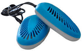 Электросушилка для обуви Ультрафиолетовая MHZ, синий