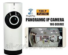 IP Камера видеонаблюдения настольная CAMERA CAD 1315 WIFI /dvr/ 1mp