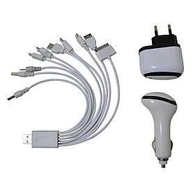 Зарядное устройство USB универсальное 12V 220V Спартак Q30