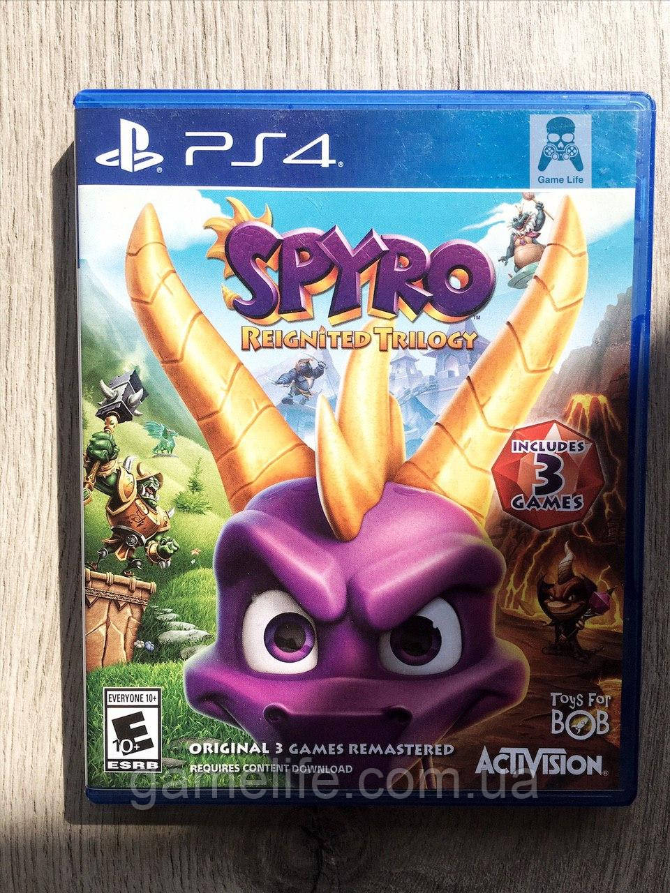 Spyro Reignited Trilogy (англ.) (б/у) PS4