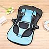Дитяче безкаркасне автокрісло Multi Function Car Cushion Blue, фото 7