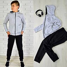 Спортивний костюм на хлопчика РОБЕРТ (двухнитка) 122-128-134-140-146-152