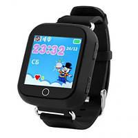Смарт-часы детские MHZ Q100 с GPS, черные