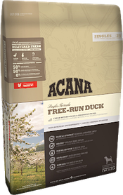 Корм гипоаллергенный ACANA Free-Run Duck для собак всех пород, 11,4 кг