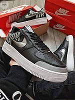 Мужские кроссовки Nike Air Force 1 Low Under Construction Black/White