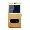Чехол книжка Momax для Huawei P20 Lite золотой (хуавей п20 лайт)