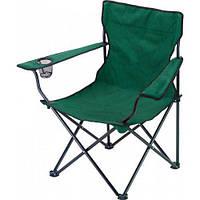 Кресло раскладное с подстаканником MHZ B15701 Green