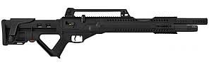 Пневматическая винтовка PCP Hatsan Invader Auto 4.5мм 37.5 Дж черный
