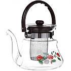 Чайник заварочный стеклянный A-PLUS 1.0 л для заварки чая, фото 2