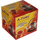 Чайник заварочный стеклянный A-PLUS 1.0 л для заварки чая, фото 4