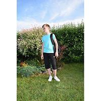 Футболка детская для мальчика однотонная мятный