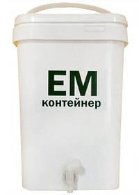 ЭМ-контейнер кухонный 20 л, белый