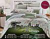 Стильний євро комплект двухспального постільної білизни, фото 3