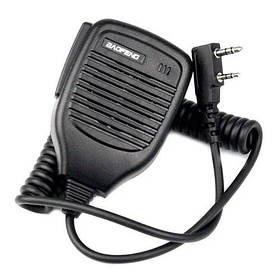 Микрофон манипулятор тангента для рации BAOFENG
