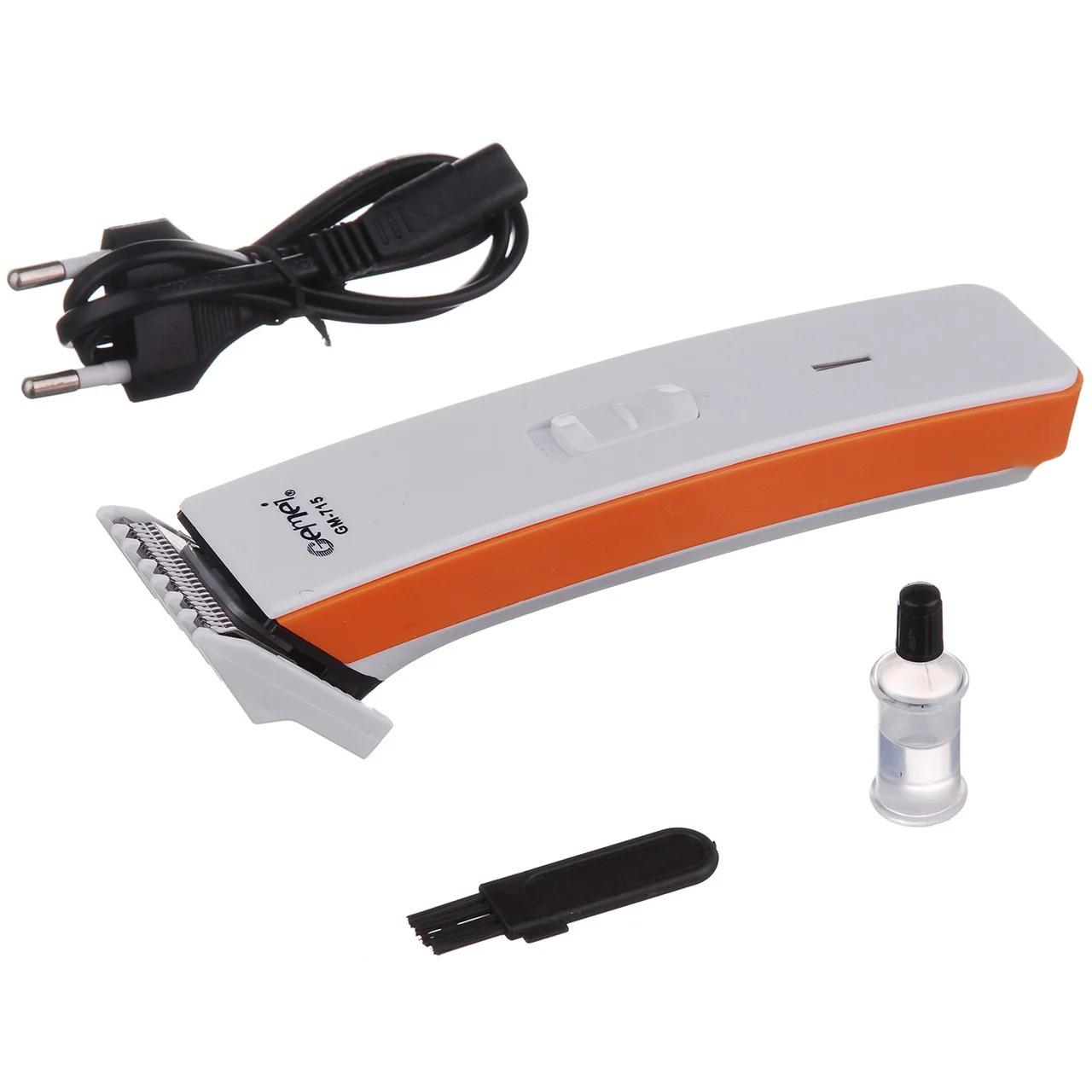 Машинка тример для стрижки волосся електрична GEMEI GM-715