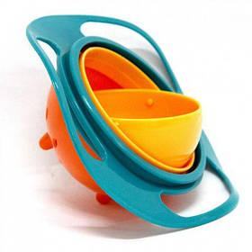 Чашка непроливайка Gyro Bowl Неваляшка MHZ N01235
