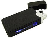 Зажигалка электроимпульсная ZGP 23 7037, черный, фото 2