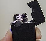 Зажигалка электроимпульсная ZGP 23 7037, черный, фото 3