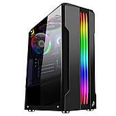 Корпус 1stPlayer R3-A-R1 Color LED Black без БП