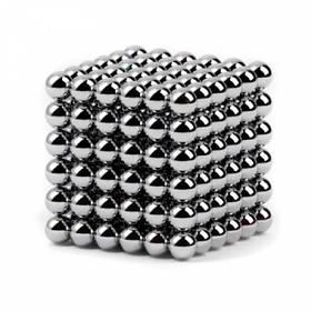 Неокуб Neocube MHZ 216 шариков 5мм в боксе, Silver