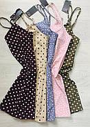 Женское шелковое платье-пеньюар, фото 4