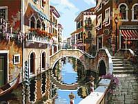 Картина по номерам на холсте Венеция 40 х 50 с подрамником