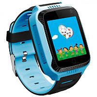 Детские умные часы Smart Baby Watch G900A с GPS, синие