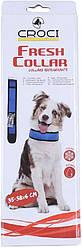 Нашийник охолоджуючий для собак Croci Harness Fresh 50-6 см (синій)