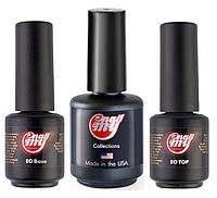 Набор My Nail база 9 мл + топ 9 мл + ultrabond для гель-лака