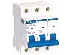 Автоматический выключатель Chint NXB-63 3P C40 6kA
