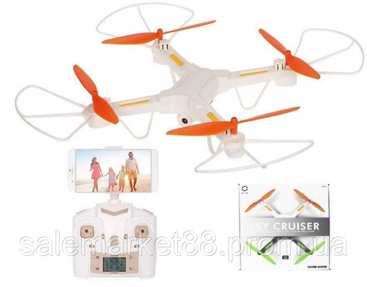 Квадрокоптер Dron Sky Cruiser X7-TW портативный с WiFi камерой