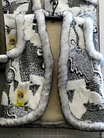 Молодежный жилет из овечьей шерсти - абстракция