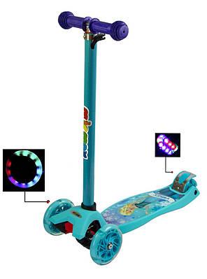 Трехколесный Самокат детский MicMax - Maxi Disney - Фроузен (scmp115), фото 2