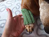 Шерстяные леггинсы гетры для собаки,одежда для собак и котов, фото 2