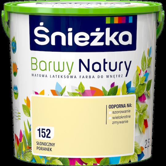 Фарба латексна  Sniezka Barwy Natury 152Т СОНЯЧНИЙ РАНОК 2.5 л