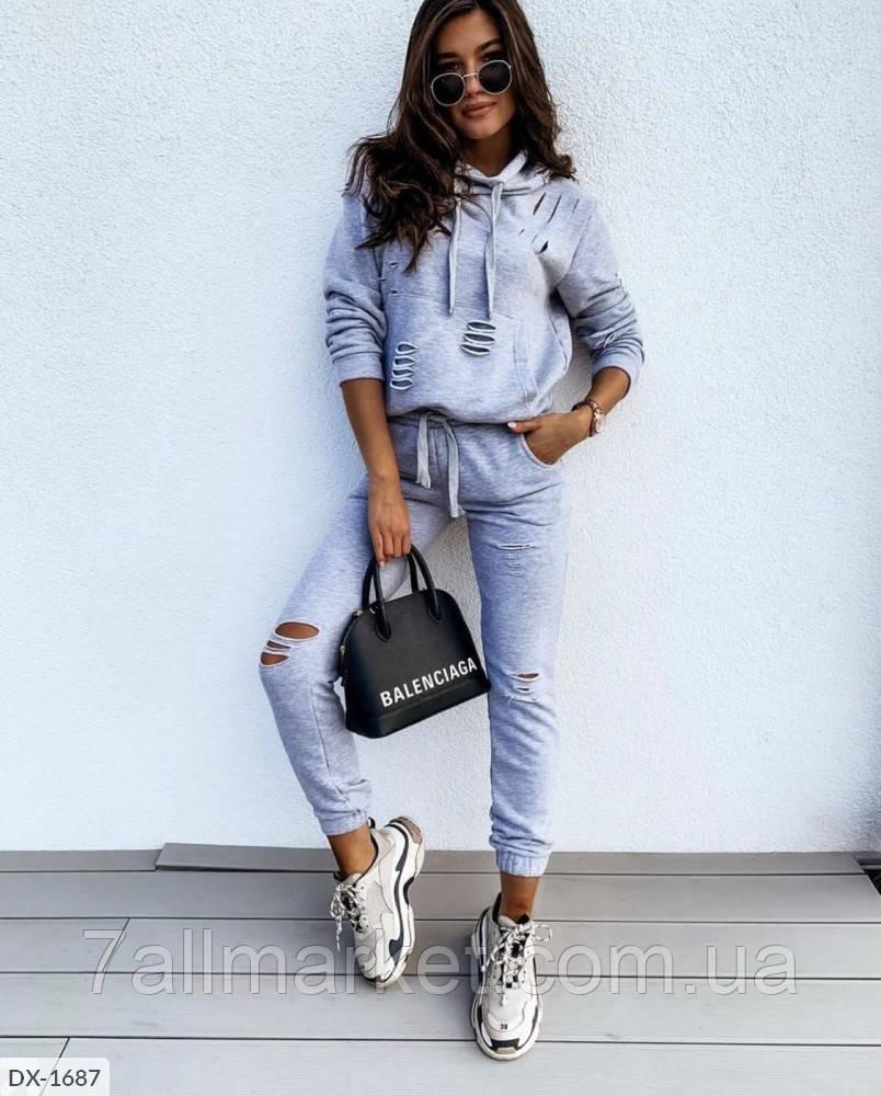 """Спортивный костюм женский модель 212 (42, 44, 46, 48) """"MODA MUR"""" недорого от прямого поставщика АР"""
