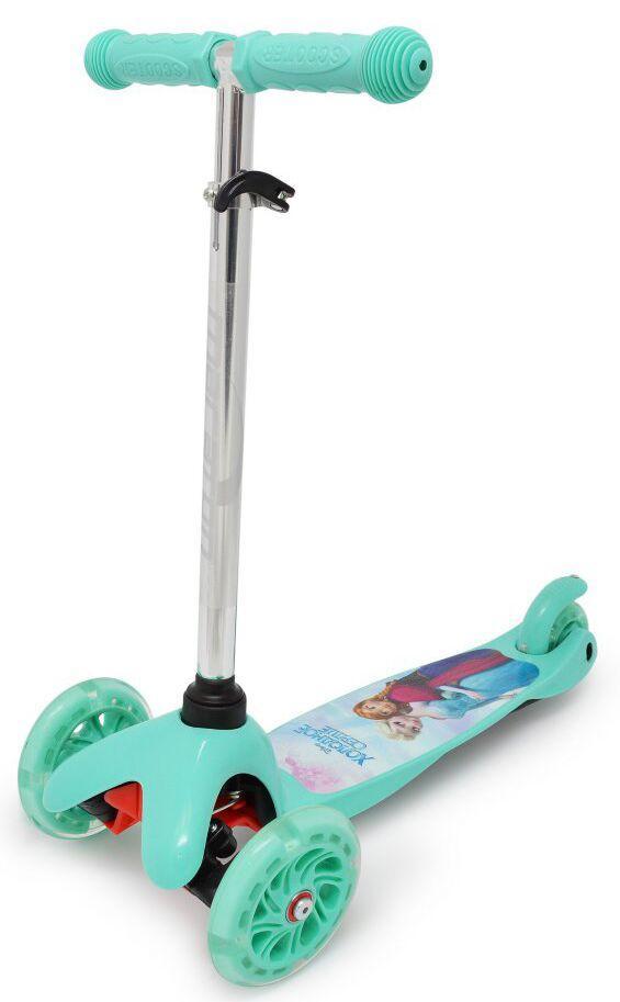 Дитячий Триколісний самокат ScooTer - Mini - Frozen / Фроузен (sct-p-111)