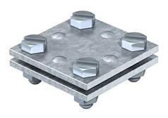 Хрестовий з'єднувач DIN для плоских провідників 30 мм OBO Bettermann (40-60 мкм)