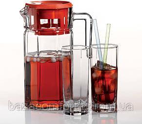 Набор кувшин + 6 стаканов Kosem 97415 (1235+6х260мл), фото 2