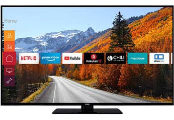 Телевизор Telefunken XU43E512 ( Ultra HD / 4K / 1500Hz / HDR10 / Smart TV / DVB-T2, DVB-C, DVB-S2)