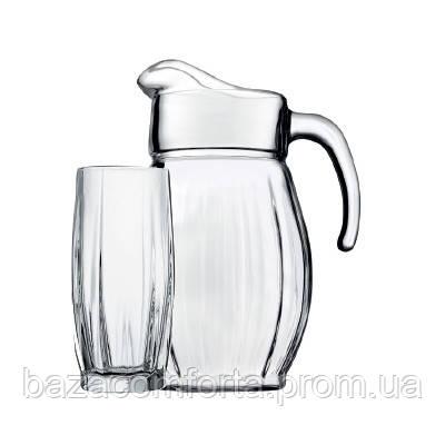 Набор кувшин + 6 стаканов Dance 97874 (1700+6х320мл)
