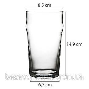 Бокал для пива Пинта 570мл Nonic 42997-1 (1шт), фото 2